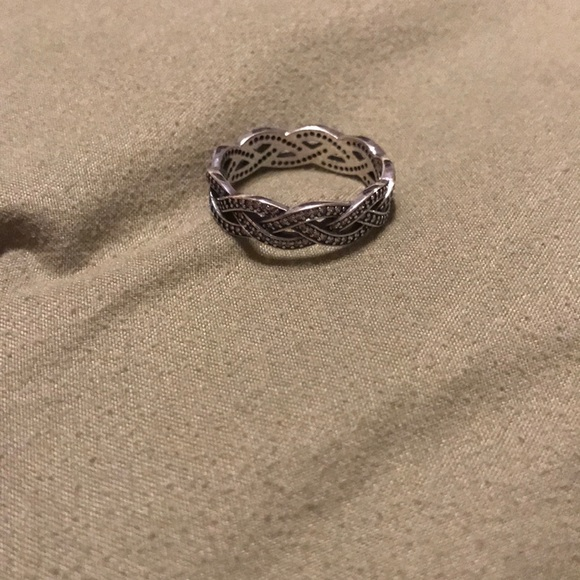 a430d8abb Pandora braided cz ring...a Jared exclusive ring. M_5b89df109264af8a2d23c982
